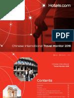 Hotel.com China Outbound 2016 Version