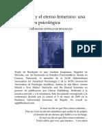 De Bendayán, Trudy - Nietzsche y el eterno femenino. Una perspectiva psicológica.docx
