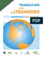 Brochura Trabalhar Estrangeiro