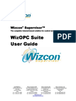 Wizcon 9.2 - OPC User Guide (English)