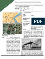 Salle Des Fêtes Cité Du Grand Parc