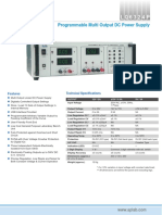 APLab Programmable Multi Output DC Power Supply
