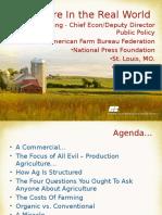 Understand the Farm Economy