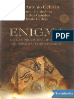 Enigma. de Las Piramides de Egipto Al as - Bruno Cardenosa