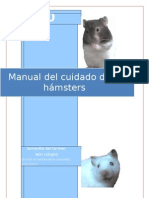 Manual del cuidado de los hamsters