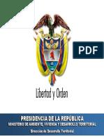 Desarrollo Territorial en Colombia