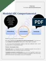 Modelul ABC Comportamental