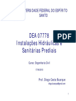 Apostila de Instalação Hidráulica Predial