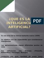 Que Es La Inteligencia Artificial}