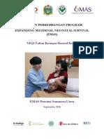Perkembangan Program EMAS Provinsi Sumatera Utara