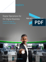Digital Platforms for Digital Operations