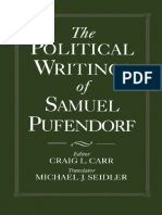 The Political Writings of Samuel Puffendorf