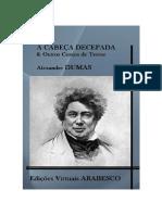 Alexandre Dumas - A Cabeça Decepada e Outras Histórias de Terror