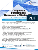 2nd Big Data and Performance Management in Shipping 2016 - Maritime Events