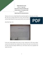 introduction to discrete signals.pdf