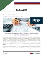 17_Mazars Tax Alert_RO_EN...15-07-2016