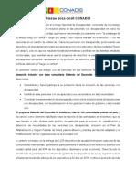 CONADIS-Logros Plan de Gobierno 2012-2016