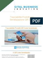 Tracciabilità Digitale Prodotti