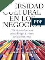 Diversidad Cultural en Los Negocios