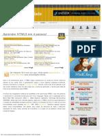 Aprender HTML5 Em 4 Passos! _ Escola Criatividade