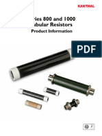1 AA Series 800 1000 Tubular Resistors