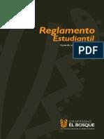 Reglamento Estudiantil Universidad El Bosque Mar2015