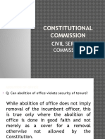 Constitutional Commission Csc
