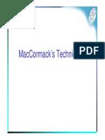 19 MacCormack Technique
