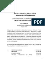Ley de Ingresos Tepic 2011