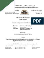 Implémentation des techniques de binarisation d'image. Application aux vieux documents