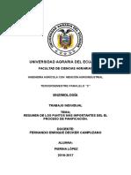 Resumen de Los Puntos Más Importantes Del El Proceso de Panificación