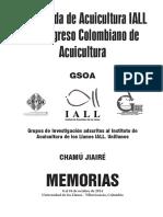Memorias VI CCA y XX Jornada IALL 2014