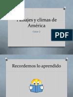 Paisajes y Climas de América