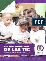 Boletín Trimestral de Las Tic Mintic - Julio de 2015
