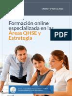 Oferta Formativa Escuela Europea Excelencia 2016