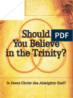 Should You Believe in the Trinity by the Watchtower 1989