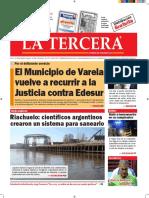 Diario La Tercera 26.07.2016