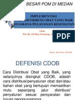 Implementasi CDOB Di Sarana Pelayanan Kesehatan 09072015