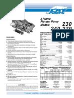 Catálogo Cat Pump 230