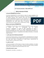 Evidencia 5_ Función pronóstico _Microsoft® Excel