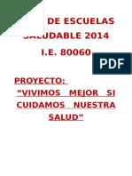 Plan Anual de Trabajo de Salud 2014