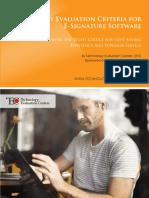 TEC Analyst Report Key Evaluation Criteria for E Signature Software 1