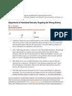 CVE Countering Violent Extremism Smoke Screen