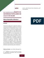 004 a Atuacao Da Uniao Nacional Dos Estudandes Durante Os Governos Populares de Lula e Dilma