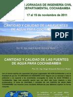 Fuentes de Agua Para Cochabamba