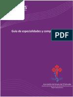 Guia de Especialidades y Competencias