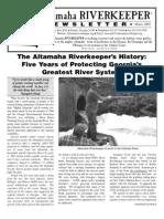 Winter 2005 Altamaha Riverkeeper
