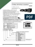 Autonics CT Datasheet