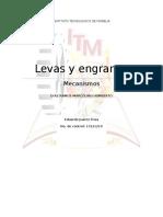Leva y Engranes - Mecanismos