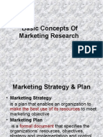 Basic Concepts of Marketing Research